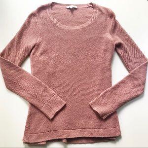 Blush Pink Madewell Sweater